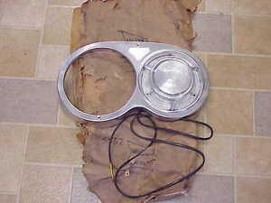 1957 Plymouth Fury Belvedere NOS MoPar Headlamp P/LAMP