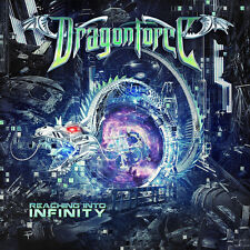 Dragonforce Reaching Into Infinity CD DVD Limited Edition 2017