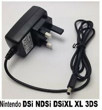 NEW DSi NDSi XL DSi LL 3DS Wall Charger For Nintendo HQ UK 'NDSi