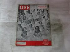 Life Magazine July 9th 1951 Summer Party In Charlotte NC Published By Time mg496