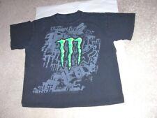 Vintage 1990's MONSTER ENERGY DRINK logo black shirt t-shirt men's XL