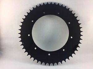 Bultaco Pursang 370  Alpina Rear Sprocket 50 Tooth Hardened Blackoly  Aluminum