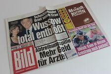 BILDzeitung 11.07.2000 Juli 11.7.2000 Geschenk 20. 21. 22. 23. 24. Geburtstag