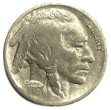 1916 United States Indian Head Buffalo Nickel - F