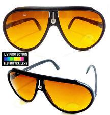 Men Women Night Driving Aviator Glasses Sunglasses Blocks Blue Light UVA UVB
