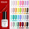 Permanent Gel Polish Set For Manicure - Varnish top coat UV LED - Nail Art Gel