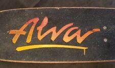 1970's Vintage Tony Alva Skateboard Tracker Trucks Kryptonics Wheels