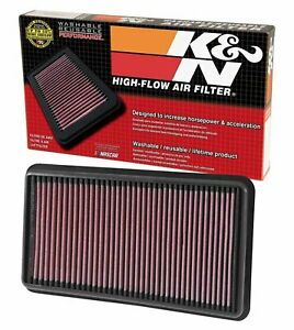 Fits Chrysler 200 2015-2017 2.4//3.6L K/&N High Flow Replacement Air Filter