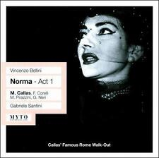 Vincenzo Bellini: Norma - Act 1 (CD, Jun-2008, Myto Historical Line)