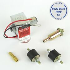 Facet Solid State ROAD Fuel Pump kit engines upto 130 BHP 2.5-3.0 PSI 8MM UNIONS