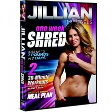 Jillian Michaels One Week Shred, New, Free Shipping
