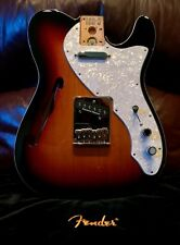 Fender '69 RI Style Thinline Telecaster Loaded Body w/ SD Quarter Pounders