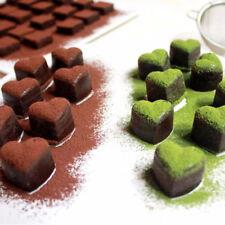 Amour Cœur Forme Chocolat Gelée Moule Bac à glaçons Silicone Cuisine Outil