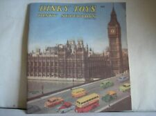 Dinky Toys  --   Catalogue 1958  -   (2015 Atlas Editions]