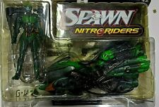 Spawn Nitro Riders Green Vapor Action Figure Mcfarlane Toys 1999 NEW