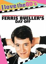 Ferris Buellers Day Off (DVD 1986)  I Love the 80s Edition W/ Insert and CD