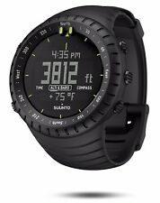 SUUNTO CORE ALL BLACK OUTDOOR SPORT WATCH  ALTIMETER BAROMETER WEATHER COMPASS