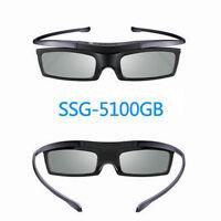 2X New Genuine SSG-5100GB 3D Active Shutter Glasses For Samsung 3D TV SSG4100GB