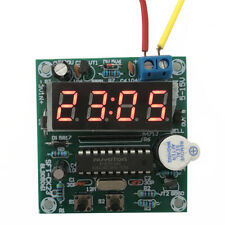 4 Bits 0.5 inches 4.5V-20V LED Electronic Clock Module 24 Hours Timer