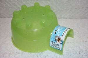 Super Pet Mini Igloo The Coolest Hide Out For Little Critters Lime SST100079167