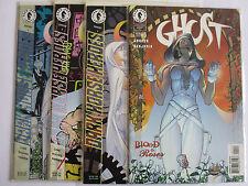 4x GHOST Nr. 1 + 2 + 3 + 11 (Dark House US Comics) - Zustand 1