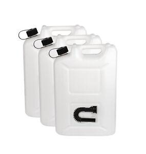 3er Set Benzinkanister 20 Liter Kraftstoff Kanister 20L UN-Zulassung Diesel
