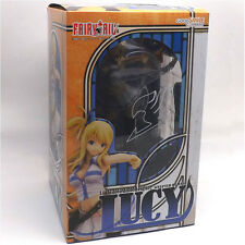 Anime Fairy Tail Lucy Heartphilia with Bag 1/7 scale Painted PVC Figure Toy Gift