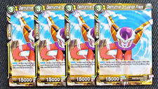 4x Destructive Occupation Frieza Bt2-104 Uncommon Dragon Ball Super Tcg Nm