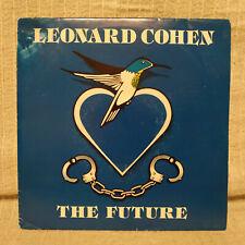 "LEONARD COHEN - THE FUTURE - 7"" RARE SPAIN PRESS SINGLE SIDED PROMO YEAR 1993 EX"