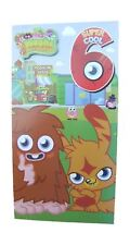Moshi monsters birthday card for age 6 (SIX) by Gemma - 195712