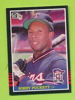 1985 Donruss Rookie - Kirby Puckett (#438)  Minnesota Twins