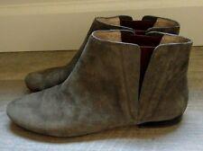 POUR LA VICTOIRE Genuine Suede Leather Ankle Boots size US 8.5 M RRP �265