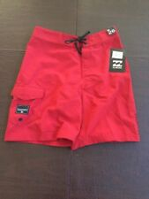 BILLABONG Red Adjustable Men's (26) Board Shorts. TL7