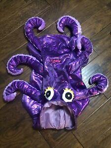 Octopus pet dog costume size Large