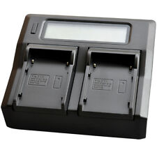 LCD Quick Battery Charger For Canon BP-911 BP-915 BP-927 BP-930 BP-945 BP-950 DV