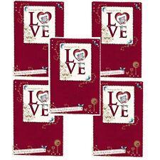 Me to You Christmas Card 5 Pack - Tatty Teddy Bear Sending You Love Xmas Cards