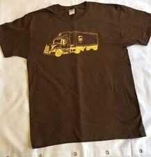 Para Hombre Marrón UPS Camión/Camión logotipo Camiseta Tamaño Grande