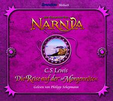 C.S. Lewis-Die Reise auf der Morgenröte (CD-Hörbuch, 5 CDs)(*NEU*)