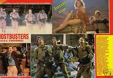 Coupure de Presse Clipping 1984 (4 pages) Film Ghosbusters SOS fantomes