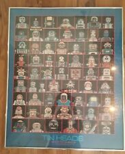 TIN HEADS SPACE TOY ACADEMY Class of 1962 Poster Framed RARE