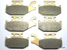 Front Rear Brake Pads For Can Am Outlander 400 Max 400 2007-2014 / DS 650 X 2007