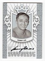 2012 Sportkings Autograph Silver ASL2 Sammy Lee Olympic Gold Diver  /80*  RIP