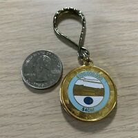Kroger Grocery Store Sales Award Metal FOB Vintage Keychain Key Ring #38084