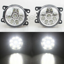 2X9 LED Front Bumper Fog Light Lamp DRL For Ford Fiesta MK6 MK7 Ford C-Max Focus