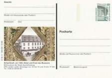 Duitsland Bund Postkarte 80 pfennig - Schachbrett (064)