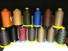 69 (Tex 70) Lt-Mid Weight Bonded Nylon/Poly Upholstery Leather Thread (16oz)