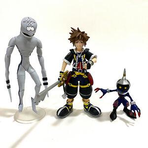 DISNEY KINGDOM HEARTS Diamond Select Sora, Dusk, & Soldier Figure Set - AUS SELL