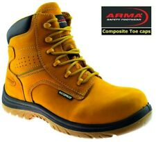 ARMA Safety Boots Composite Toe Cap Metal Free Safety Boots  A15