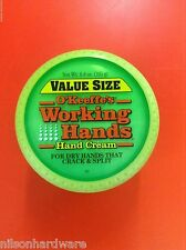 6.8oz O'Keeffe's Working Hands Creme Value Size Can Jar Lotion Dry Cracked Skin