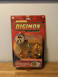 Digimon Collectable Mini Figure Season Four Set 49 Bandai New Sealed MOC